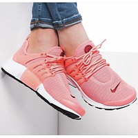 """""""NIKE""""Air Presto Women Men Fashion Running Sport Casual Shoes Sneakers Pink-small wine red hook F"""