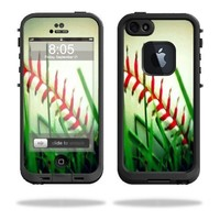 Protective Vinyl Skin Decal Cover for LifeProof iPhone 5 Case 1301 fre Sticker Skins Softball