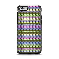 The Colorful Knit Pattern Apple iPhone 6 Otterbox Symmetry Case Skin Set