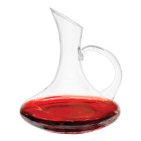 Traditional Handled Decanter