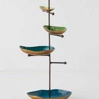 Baubled Brook Jewelry Stand by Anthropologie Green One