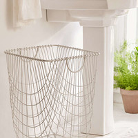 Tike Wire Rolling Hamper   Urban Outfitters