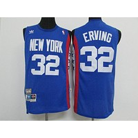 Aba New York Nets #32 Julius blue Erving Retro Swingman Jersey