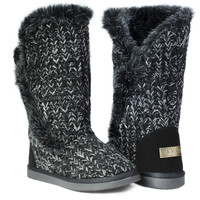 Winter Boots - Snow Black