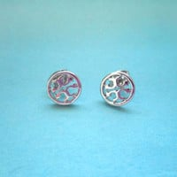 Toryburch Style, Petit Earrings gold,silver,pink gold