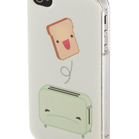 Toaster of the Town iPhone 4/4S Case   Mod Retro Vintage Wallets   ModCloth.com