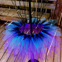 Passion-Fruit Flower Fairy Tutu - Halloween Tutu - Rave Tutu - Available in Infant, Toddlers, Girls, Teenager and Adult Sizes