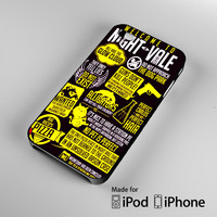 Welcome to Night Vale Quotes A0464 iPhone 4S 5S 5C 6 6Plus, iPod 4 5, LG G2 G3, Sony Z2 Case