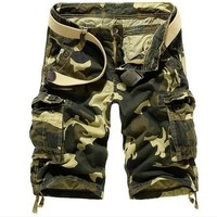 Hot Sale Summer Casual Men With Pocket Pants Shorts [6541848131]