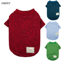 14 Colors Dog Clothes Warm Winter Coat Minimalism Design Sweater Sport Jacket Warm Coat Cute Cat Clothing Puppy Dogs Gift DC0463