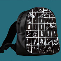 Fall Out Boy Collages for Backpack / Custom Bag / School Bag / Children Bag / Custom School Bag ***