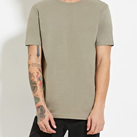 Classic Cotton Tee | 21 MEN - 2000187381