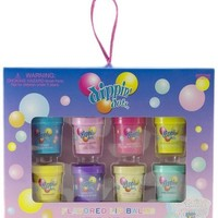 Dippin Dots 8 Pieces Flavored Lip Balm Set