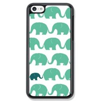 The elephant Design Hard Case Cover Skin for iphone 6 (Black hard)
