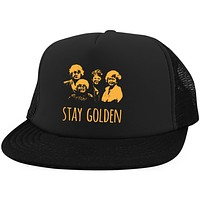 Stay Golden Hat Golden Girl Girls Hat