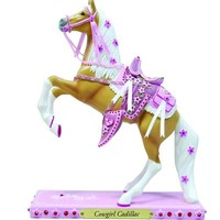 Trail of Painted Ponies from Enesco Cowgirl Cadillac Figurine 8.5 IN