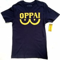 ANIME One Punch Man OPPAI T-Shirt NWT 100% Authentic