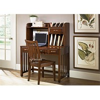 Hampton Bay Home Office-Cherry