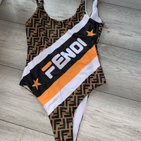 Fendi FF One-piece Swimsuit
