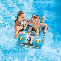 Children Swimming Ring Baby Pool Seat Float Aid Trainer Water Cartoon Boat Toddler Float Water For Kids Cartoon Designs