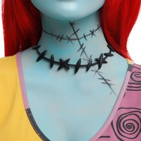 Licensed cool Disney Nightmare Before Christmas Costume Cosplay Sally Stitches Choker Necklace