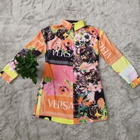 Versace Womens Fashion Shirt Dress