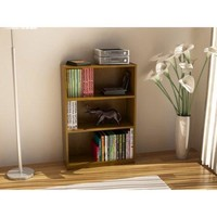 3-shelf Bookcase for Dorm Room, Home Office, Living Room Kids Room