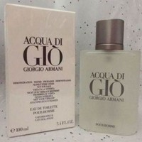 DCCKIN7 Acqua Di Gio 3.4 Oz. Men SPRAY EDT COLOGNE **NEW IN BOX** GIORGIO ARMANI
