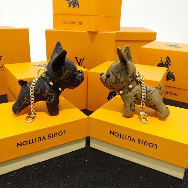 Image of Louis Vuitton LV Cute Dog Bag Charm And Key Holder