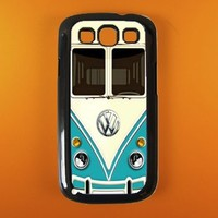 Galaxy S3 Case - Vw Teal Minibus Galaxy S3 Cover,very Cool an...