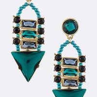 Turquoise Oceana Earrings