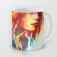 Airplanes Mug by Alice X. Zhang