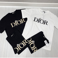 DIOR Fashion casual relaxed T-shirt