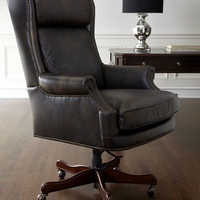 Office Chairs, Desk Chairs & Leather Office Chairs   Horchow