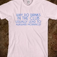 DRINKS IN THE CLUB