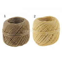 Organic Hemp Wick with Natural Beeswax Coating Candle Wick DIY 200 Feet 2 Colors
