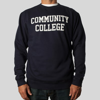 Community College Crewneck by Dustin Canalin
