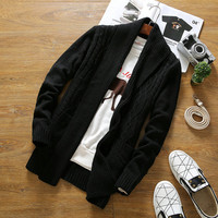 Men's Knitted Fashion Cardigan