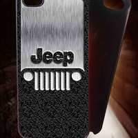 Jeep Steampunk Classic Jeep Wrangler logo 2 for iPhone 4/4S/5/5S/5C Case, Samsung Galaxy S3/S4/S5 Case, iPod Touch 4/5 Case