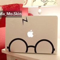 Harry Potter-Macbook Decals Macbook Stickers Mac Cover Skins Vinyl Decal for Apple Laptop Macbook Pro/Macbook Air/Uniboday Partial skin