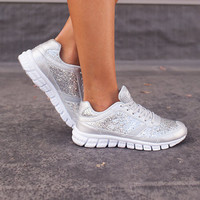 Bring on the Sparkle Workout Shoes