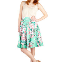 ModCloth 50s Mid-length A-line Country Day Skirt