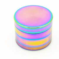 Rainbow Bliss Herb Grinder 1 Pc 4 Sizes