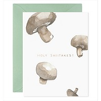 Holy Shiitakes! Card