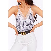 Chill Day Snake Print Top (Multi Color)