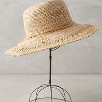 Gracia Sun Hat by Anthropologie in Neutral Size: One Size Hats