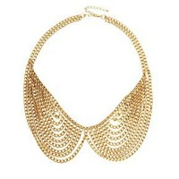 ASOS Multi Chain Rounded Collar Necklace at asos.com