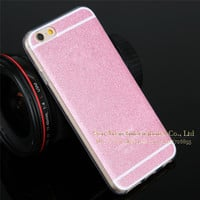 Sale i6 / 6Plus back covers !Cute Candy Sparkling Cover For Apple iphone 6 Case Shinning Phone Cases For iphone6 Plus TPU Case
