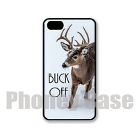 Iphone 4, 4s, 5, 5s, 5c Buck Off Personalized iPhone Case #205