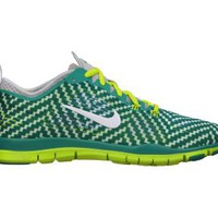 Nike Free 5.0 TR Fit 4 Printed Women's Training Shoes - Turbo Green